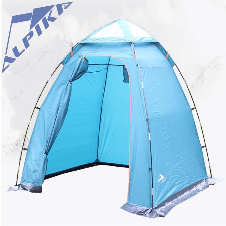 165*165*200cm ultralarge super strong 4 season shower dressing toilet camping tent with snow skirt