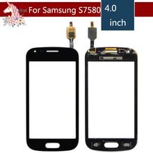 10pcs/lot For Samsung Galaxy Trend Plus DUOS 2 GT S7580 S7582 7580 7582 LCD Touch Screen Digitizer Sensor Outer Glass Lens Panel бесплатные инструменты замена для samsung galaxy trend plus s7580 s duos 2 s7582 черный сенсорный экран digitizer стекло