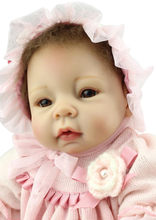 Fairlady Like Bebe Reborn Silicone Doll With Princess Like Dress And Hat Bebe Reborn Realista For Girls As Christmas Doll Toys