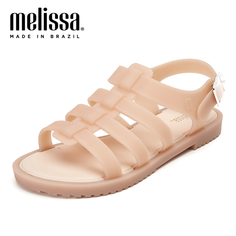 Melissa Women 39 s Sandals Brazilian Female Jelly Shoes Summer Women Casual Jelly Shoes Romam Melissa Sandals in Low Heels from Shoes
