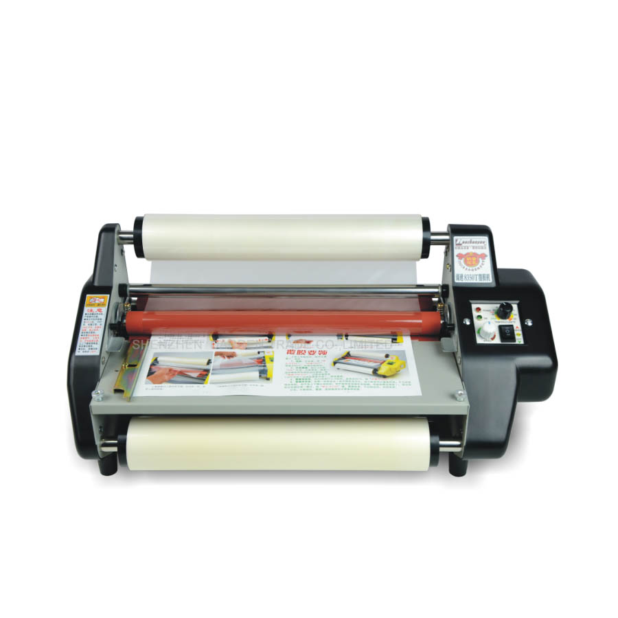 1PCS 220V 500W 8350T 80G-5MM Laminating Machine Film Paper Laminator new built in vacuum oca film laminating machine polarizer for lcd film oca laminator 110v or 220v