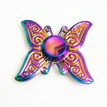 060 high quality Fidget Spinner Metal Rainbow Dragon Hand Finger Spinners Autism ADHD Focus Anxiety Relief