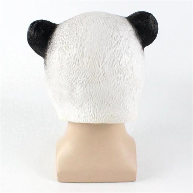 Маска для хэллоуина панда 2