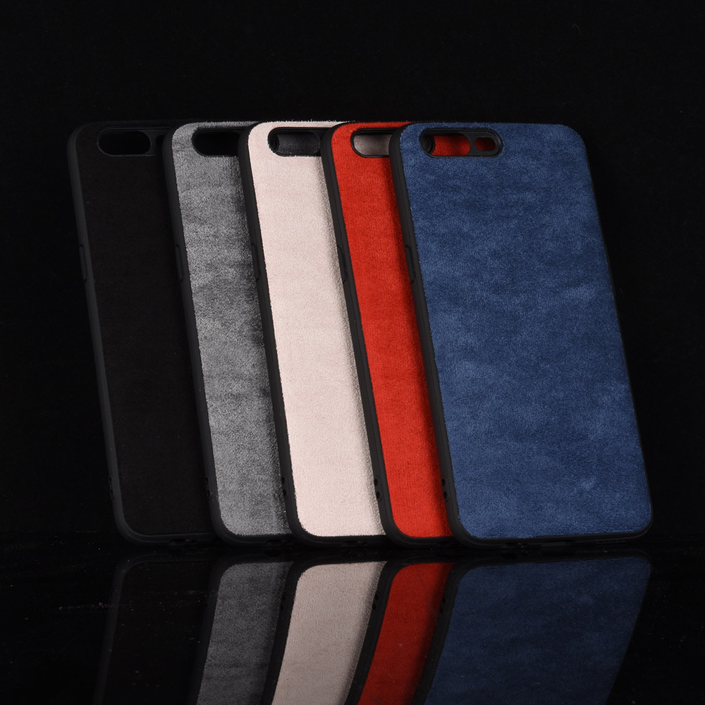 oneplus 5 Case OnePlus5 Silicone Edge Shockproof Genuine Plush Leather Phone Cover For OnePlus 5 one plus 5 Fitted Bag Case