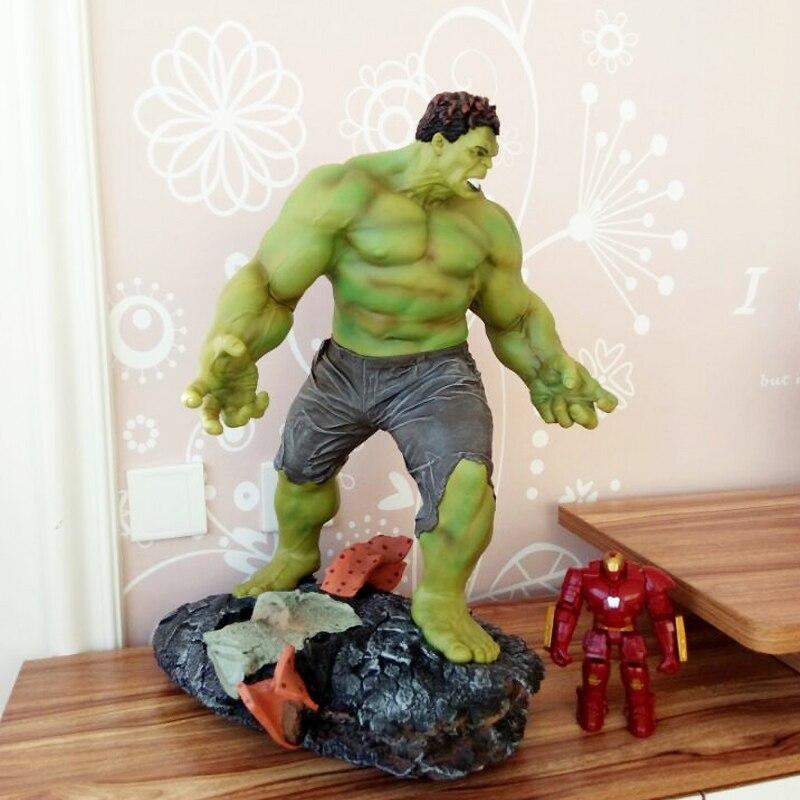 "<font><b>1</b></font>/<font><b>4</b></font> <font><b>Scale</b></font> <font><b>Hulk</b></font> <font><b>Avengers</b></font> Age of Ultron 24"" <font><b>Figure</b></font> Statue Maquette Recast 60cm H In Stock Now"