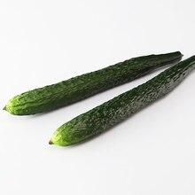 1 Piece Cute Artificial Cuke Vegetables Creative PU Cucumber For Decor Decorative Fake Dining Table