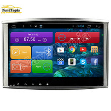 NAVITOPIA 1024*600 10.2'' Quad Core Android 4.4 Car Radio for Toyota Land Cruiser 100 1998-2009 With Bluetooth 16GB 3G Wifi