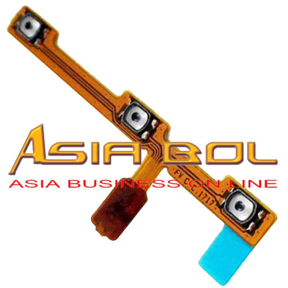 New Power On Off Volume Up Down Switch Key Button Flex Cable Replacement For Huawei P10 Lite