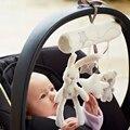 Asiento de seguridad de Mano de peluche de juguete conejo de la música del bebé cama colgante Campana Multifuncional Cochecito de Juguete de Felpa Regalos Móviles WJ141