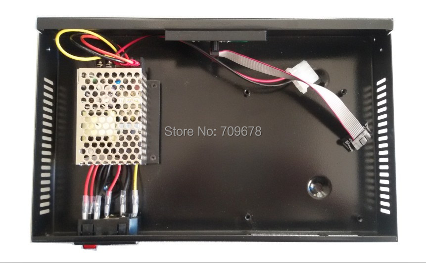 2017 Hot Sale Video Display Sender Box With Meanwell Power Supply Installed,support Nova /linsn/colorlight Led Sending Card