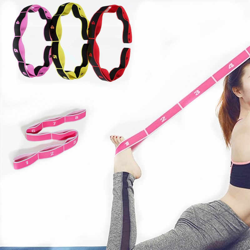Professional Gymnastics Adult Latin Training Bands Multi-functional Pilates Yoga Stretch Resistance Bands Fitness Elastic Band