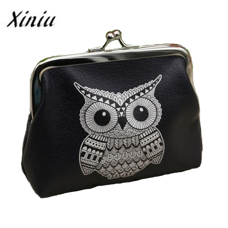 Xiniu Ladies wallets and purses anime wallets Elephant Pattern purse for Owl Coin Purse female money tray case for cards 2018#ss xiniu ladies wallets and purses zipper coin purse cute portab bag portefeuille femme pyyw