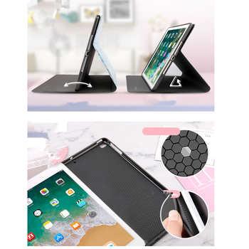 For iPad 9.7 2017 2018 Case A1893 Silicone Soft Back Marble PU Leather Smart Cover for iPad Air 2 1 Pro 10.5 Mini 1 2 3 4 Funda