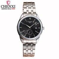 NATATE Fashion Men Brand CHENXI Waterproof Dress Female Watches Casual Rhinestone Quartz Stainless Steel Bracelet Watch