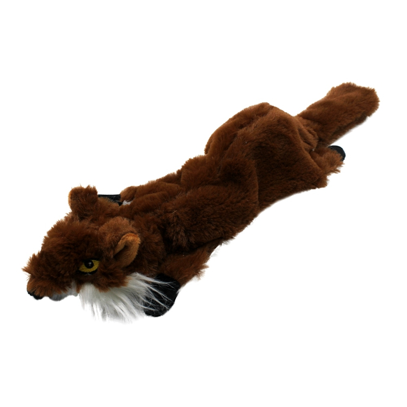 Cute Plush Toys Squeak For Dogs Chew Squeaker Pet Squeaky Animal Shaped Toy Squirrel  Dog Cat Toy Pet Supplies 18
