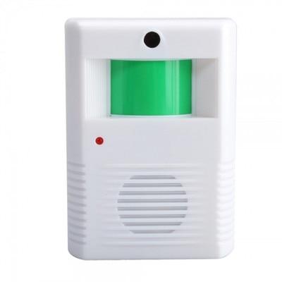 PIR Door bell Infrared Sensor Wireless Doorbell welcom chime bell Guide Doorbell Alarm for store home shop warehouse security long distance 2v2 433mhz wireless welcom chime digital ac doorbell