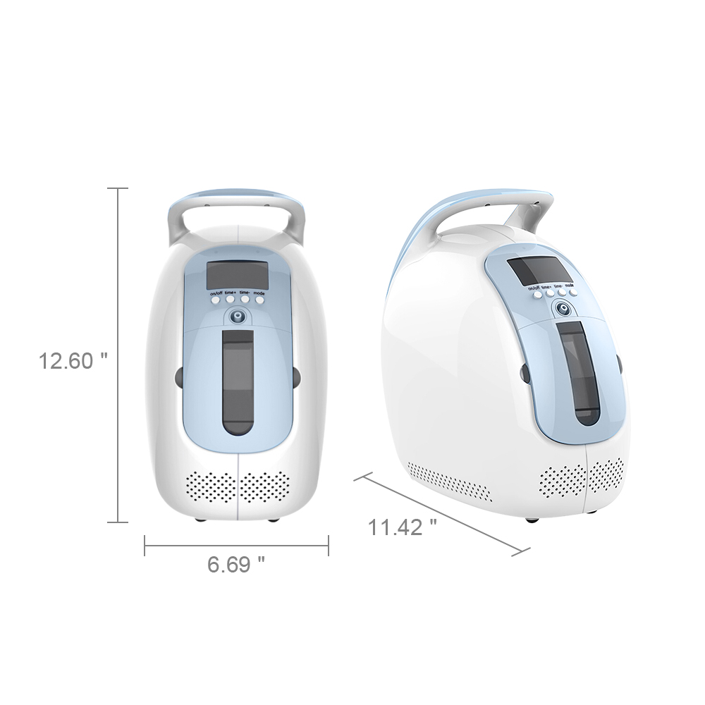 Portable Oxygen AC 50 60HZ Concentrator Air Purifier O2 Supply Machine Household and Hospital Use 24Hours Continously in Air Purifiers from Home Appliances