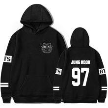 BTS Hoodies Women Kpop BTS Bangtan Boys sweatshirt Womens and men hoodie bts album plus size 4XL winter k-pop clothes hip hop