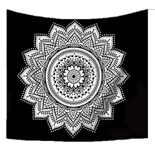 Indian Mandala Wall Hanging Tapestry Bohemia Decor Tapestry 3D Tapestry Mandala Blanket Wall Hanging Carpet Beach Throw Rug