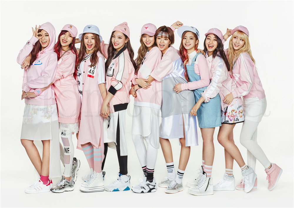 Twice Posters K POP Wall Stickers White Coated Paper Prints High Definition Livingroom Bedroom Bar Home Art Brand in Wall Stickers from Home Garden