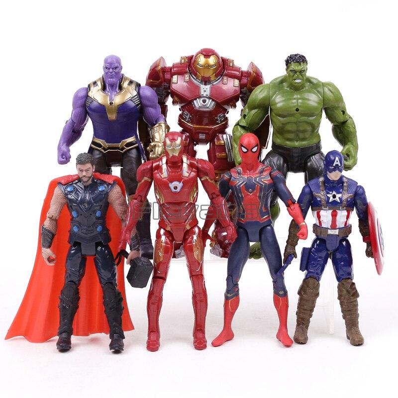Avengers Infinity War PVC Figures Toys Iron Man MK50