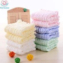 Herbabe 5 шт банное полотенце для новорожденных 100% хлопок