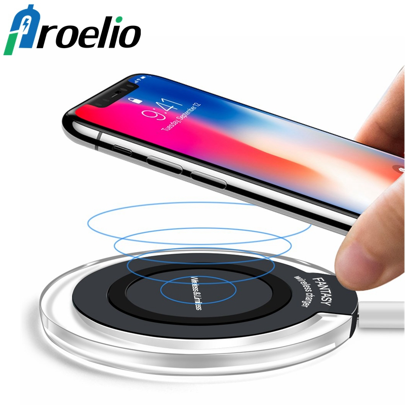 Proelio Mini Qi Wireless Charger USB Charge Pad For iPhone