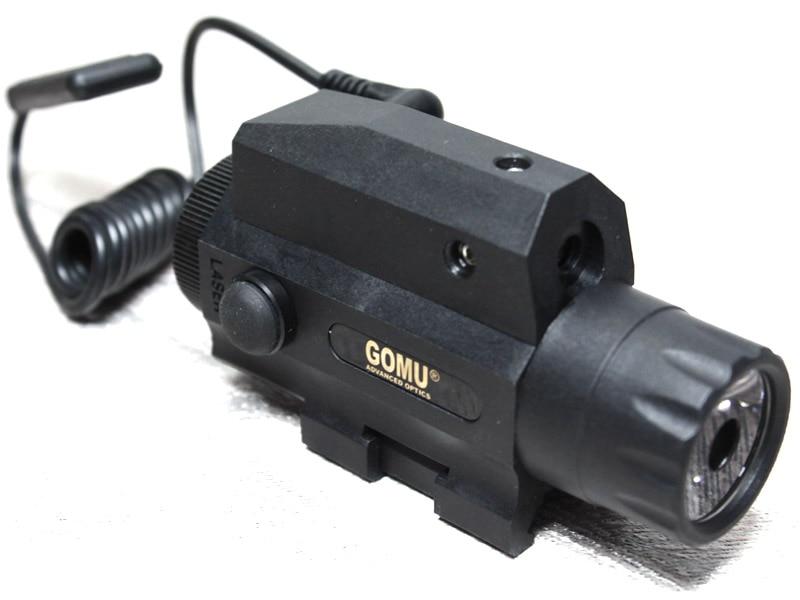 2015 GOMU 2 in1 taktička svjetiljka i crveni laserski sustav - Lov - Foto 3