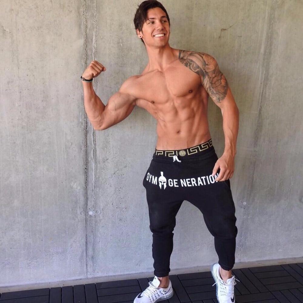 Brand Gyms Men Joggers Casual Men Sweatpants Joggers Pantalon Homme Trousers Sporting Clothing Bodybuilding Pants