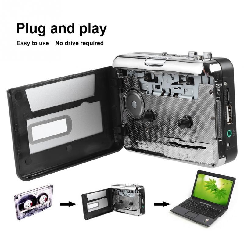 Heim-audio & Video Unterhaltungselektronik Tragbare Kassette Zu Mp3 Konverter Usb-stick Erfassen Audio Musik Player Band Zu Pc/mp3/lautsprecher Konverter Für Windows Rabatte Verkauf