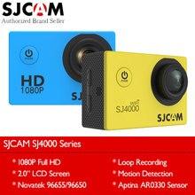 Najnowszy Oryginalny SJCAM SJ4000 Wifi/Działania SJ4000 2.0 Ekran LCD aparat Upgrade SJ CAM 4000 Serii 30 m Wodoodporny Mini DV Sportowe