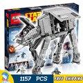 1157 unids universo de star wars nuevo 05051 at-at diy modelo de bloques de construcción de juguetes niños regalos compatible con lego
