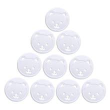 Baby Care 10X Power Kid Socket Cover Baby Child Protector Guard Mains Point Plug Bear New Convenient
