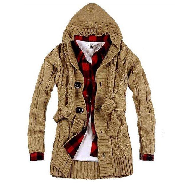 Free shipping men's sweater/cardigan, long sweater for gentlemen MZM001