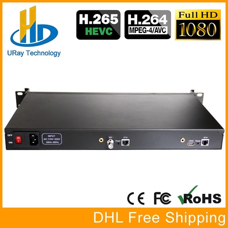 1U HEVC HDMI SDI IP Video Encoder IPTV Streaming Encoder H.265 H.264 Live Encoder HDMI SDI To RTSP RTMP HTTP UDP HLS ONVIF h 264 4k iptv encoder hdmi video encoder youtube encoder ip rtmp video encoder live streaming