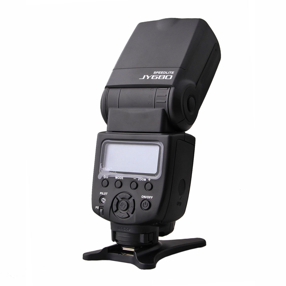 VILTROX JY-680 Flash Speedlite Flash pour canon pour nikon 600D 1000D 5D 5D MARK II 1D D800 D200