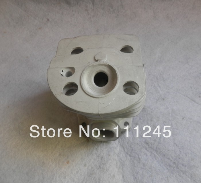 45MM CYLINDER BLOCK NIKASIL PLATE FOR HUS. CHAINSAW  51 HUSK  CHAIN SAW ZYLINDER  HEAD  W/N PISTON ASSY RING CLIP PIN KIT 38mm cylinder barrel piston kit