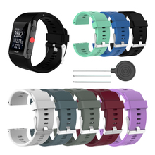 цена на High Quality Comfortable Silicone Replacement Wrist Watch Band for Polar V800 Smart Bracelet with Tool Smart watch Strap