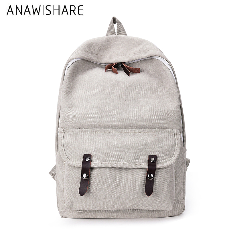 Novelty Canvas Backpack Preppy Style Women School Bags For Teenager Girls Travel Backpacks Soft Handle Mochilas Mujer Rucksacks Luggage & Bags