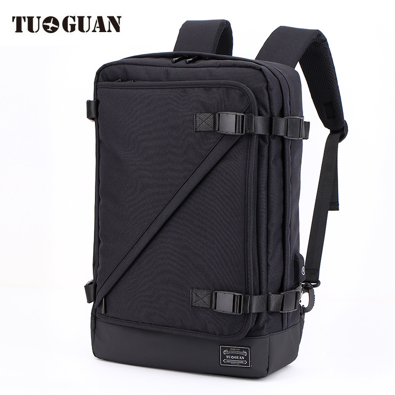 Mens Large Capacity 22 inch Backpack Waterproof Multifunction USB Charging Male Laptop Bag Business Travel School Boogbag-in Backpacks from Luggage & Bags    1