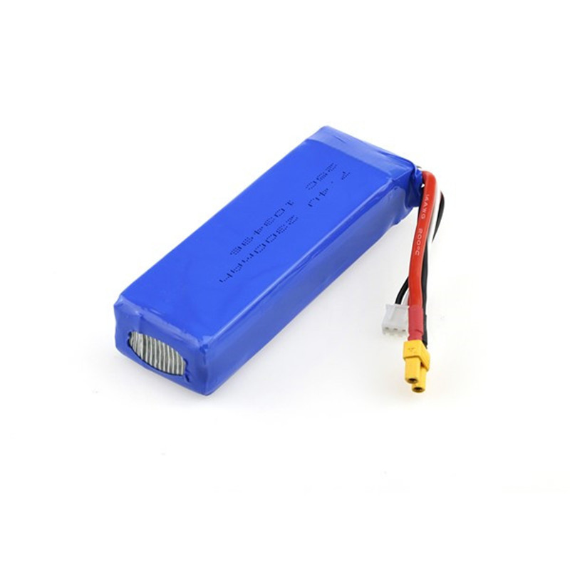 Rechargeable Lipo Battery MJX Bugs 3 RC Quadcopter Spare Parts 7.4V 25C 2300mAh Battery modern cx 10 rc quadcopter spare parts blade propeller jan11