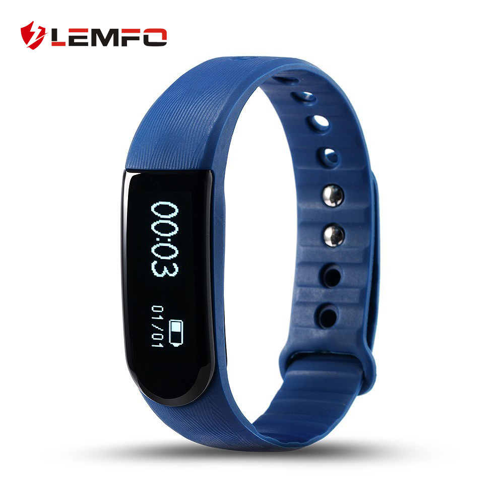 LEMFO Smart Wristband ID101 Smart Bracelet Fitness Smart Band Heart Rate Monitor Mp3 Player for IOS