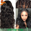Silk Base Full Lace Human Hair Wigs For Black Women Brazilian Silk Top Full Lace Wigs Wet And Wavy Lace Front Wig With Baby Hair