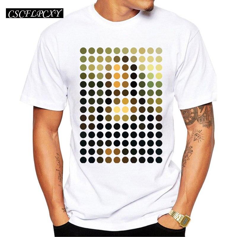 Новые поступления модные Мона Лиза Remix Дизайн Для мужчин футболка мальчиков Hipster Прохладный топы Повседневное T-shirtCSCFLPCXY