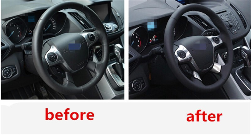 Car Accessories Steering Wheel Cover Paillette Cover Refires Sticker ...