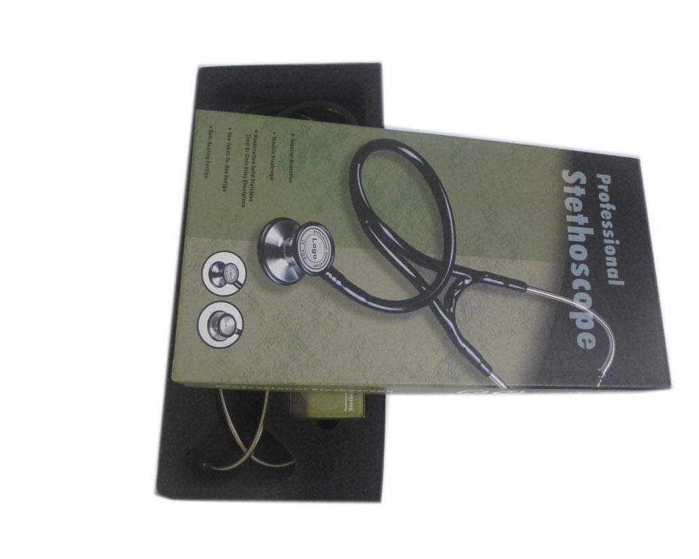 CE Professional Doctors nurses medical Stethoscope Cardiology Littmann Shape Dual head blood pressure Stethoscope Estetoscopio