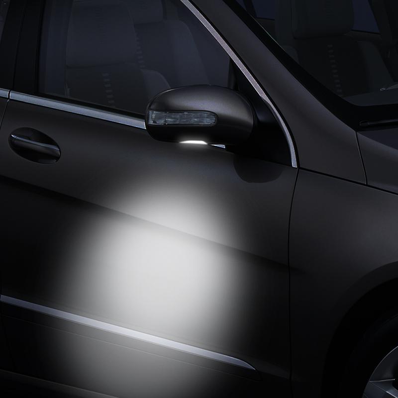 2X6500 K белый светодиодный светильник под боковым зеркалом для Skoda Octavia Mk3 5E 2012- Superb 2 Octavia 3