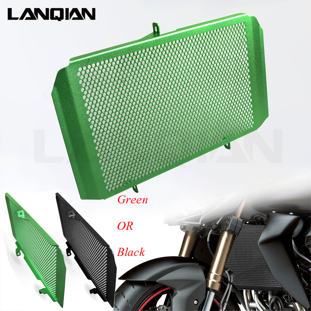 Motorcycle Radiator Guard Grille Cooler Protect For Kawasaki Z1000 Z1000SX 2010 2011 2012 2013 2014 2015