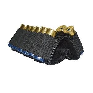 Image 2 - Airsoft fusil de chasse tactique fusil cartouches 8/9 bout à bout cartouche Stock porte coque élastique tissu fusil de chasse munitions
