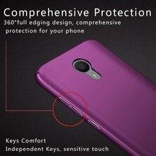 Для meizu m3 mini case meizu m3 mini 5.0 «360 полная защита жесткого пластика задняя крышка коке для meizu m3 mini телефон случаях